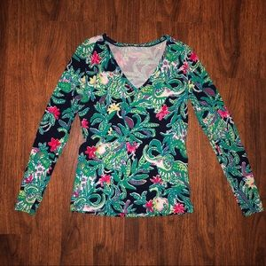 GUC Lilly Pulitzer Nellie Top